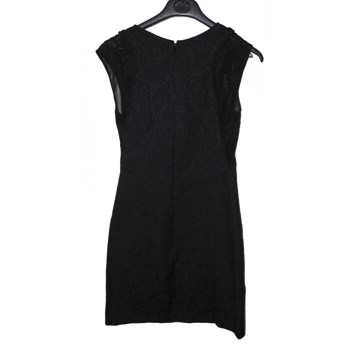 The Kooples \N Kleid in  Schwarz Synthetik