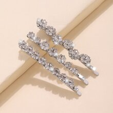 3 piezas horquilla con diamante de imitacion