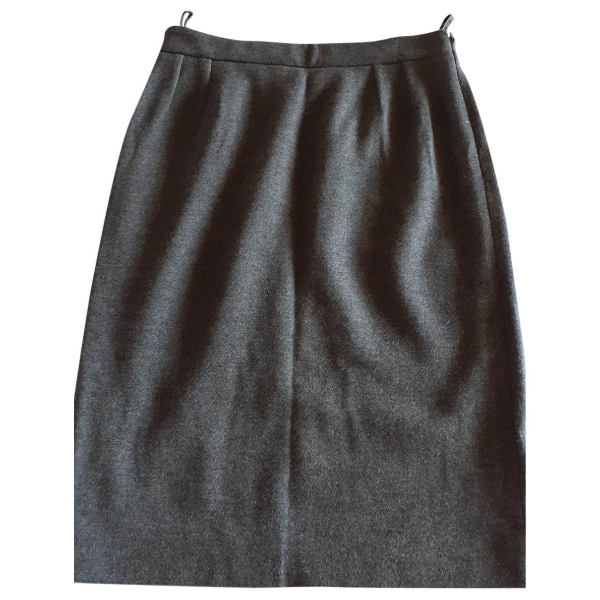 Gucci N Grey Wool skirt for Women 42 IT