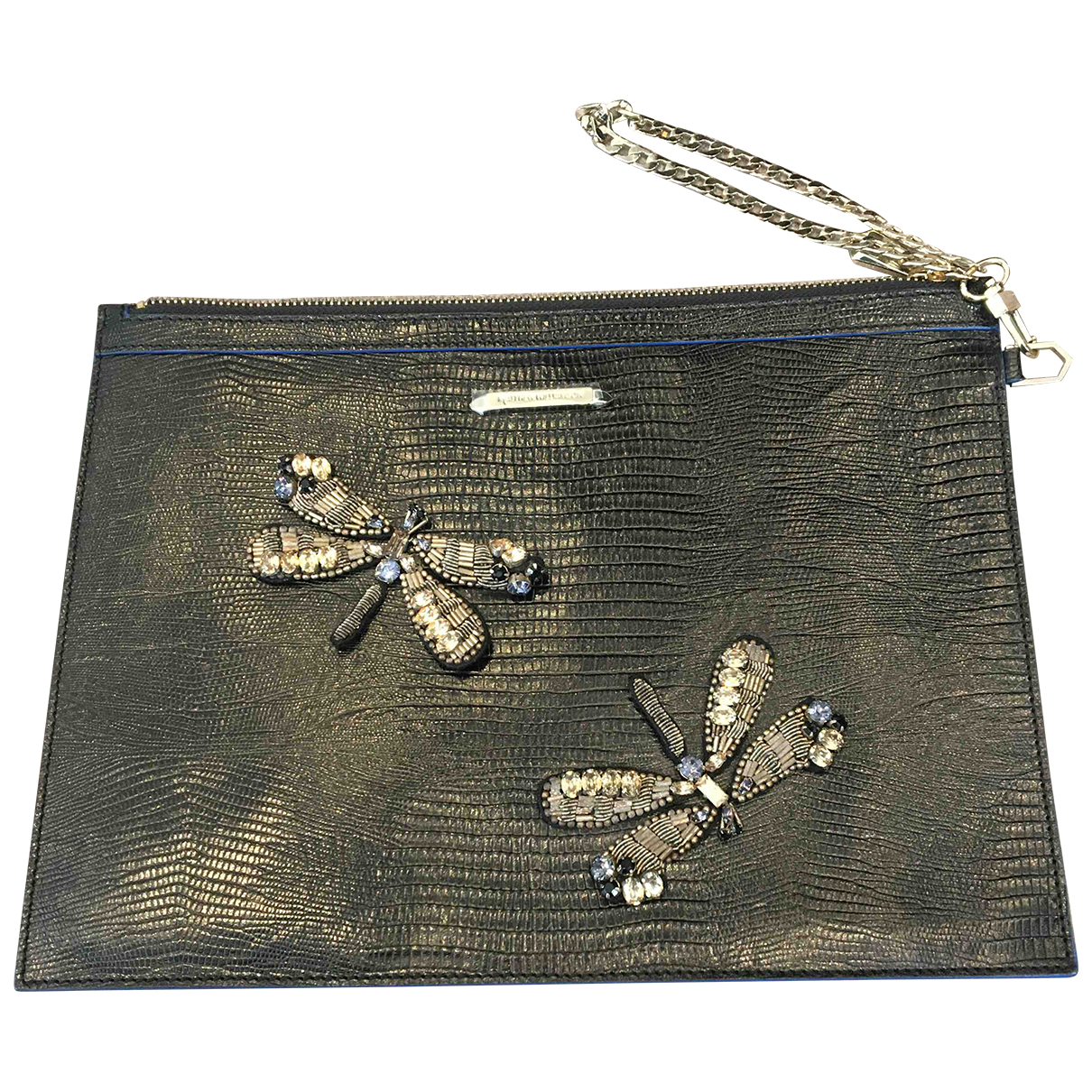 Matthew Williamson N Black Leather Clutch bag for Women N