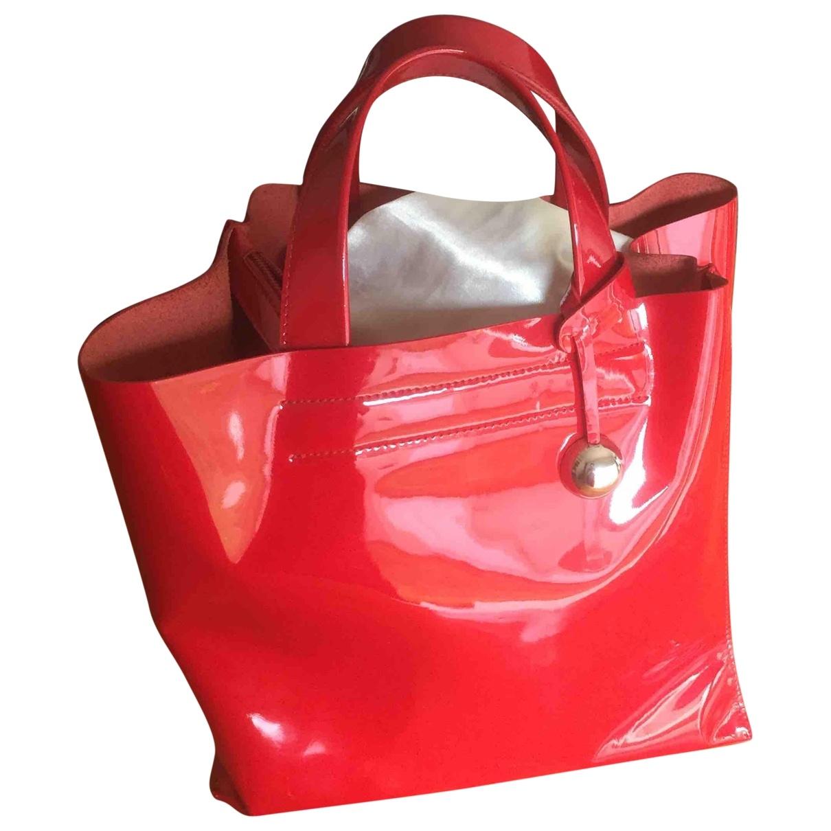 Furla \N Red Patent leather handbag for Women \N