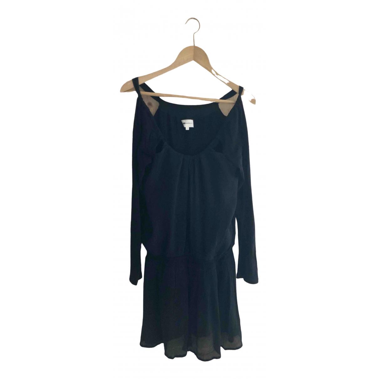 Vanessa Bruno Athe N Black Wool dress for Women 40 FR