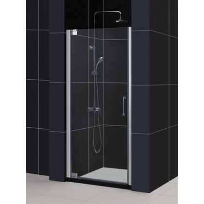 SHDR-4132720-06 Elegance 32 1/4 - 34 1/4 In. W X 72 In. H Frameless Pivot Shower Door In Oil Rubbed