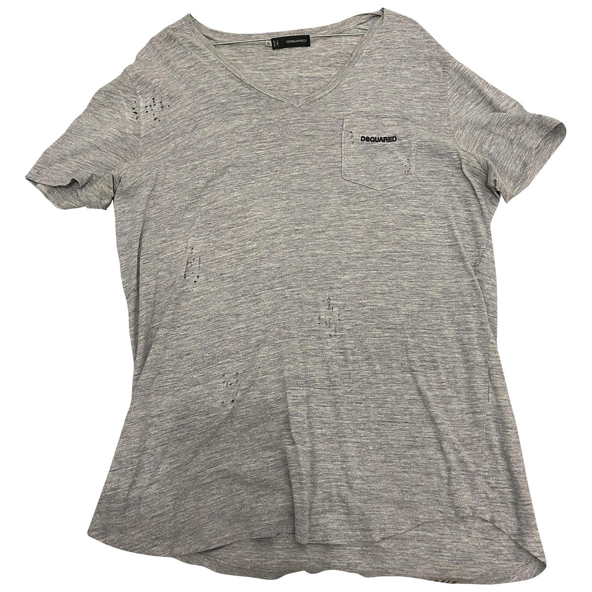 Dsquared2 \N T-Shirts in  Grau Baumwolle