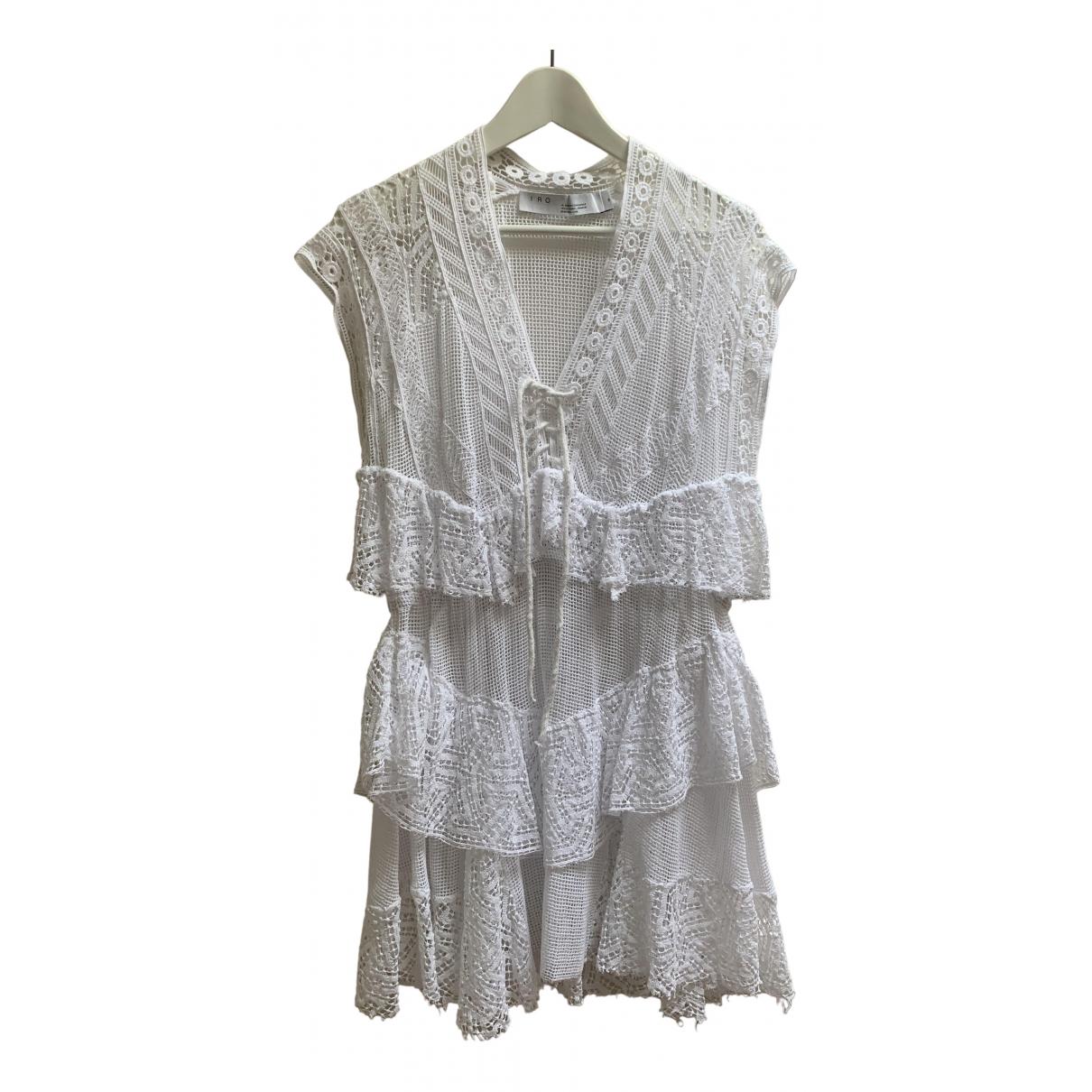 Iro - Robe Spring Summer 2020 pour femme en coton - blanc