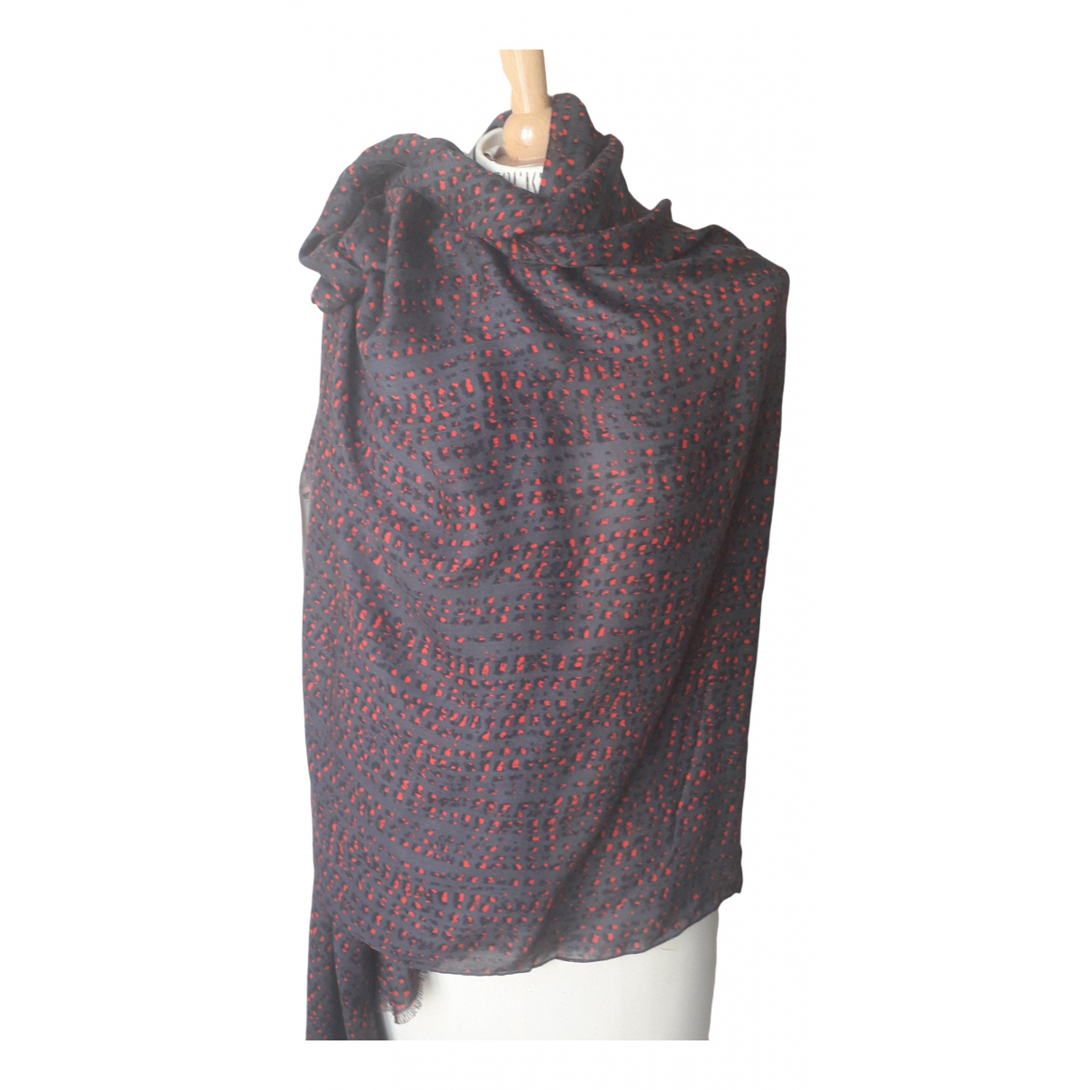 Comptoir Des Cotonniers \N Anthracite Wool scarf for Women \N