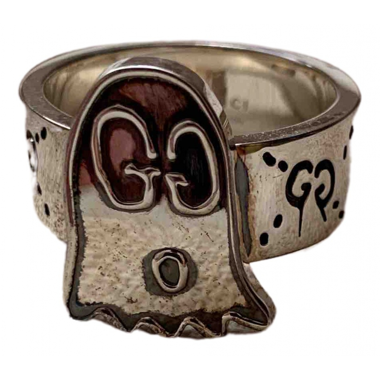 Gucci \N Ring in  Silber Silber