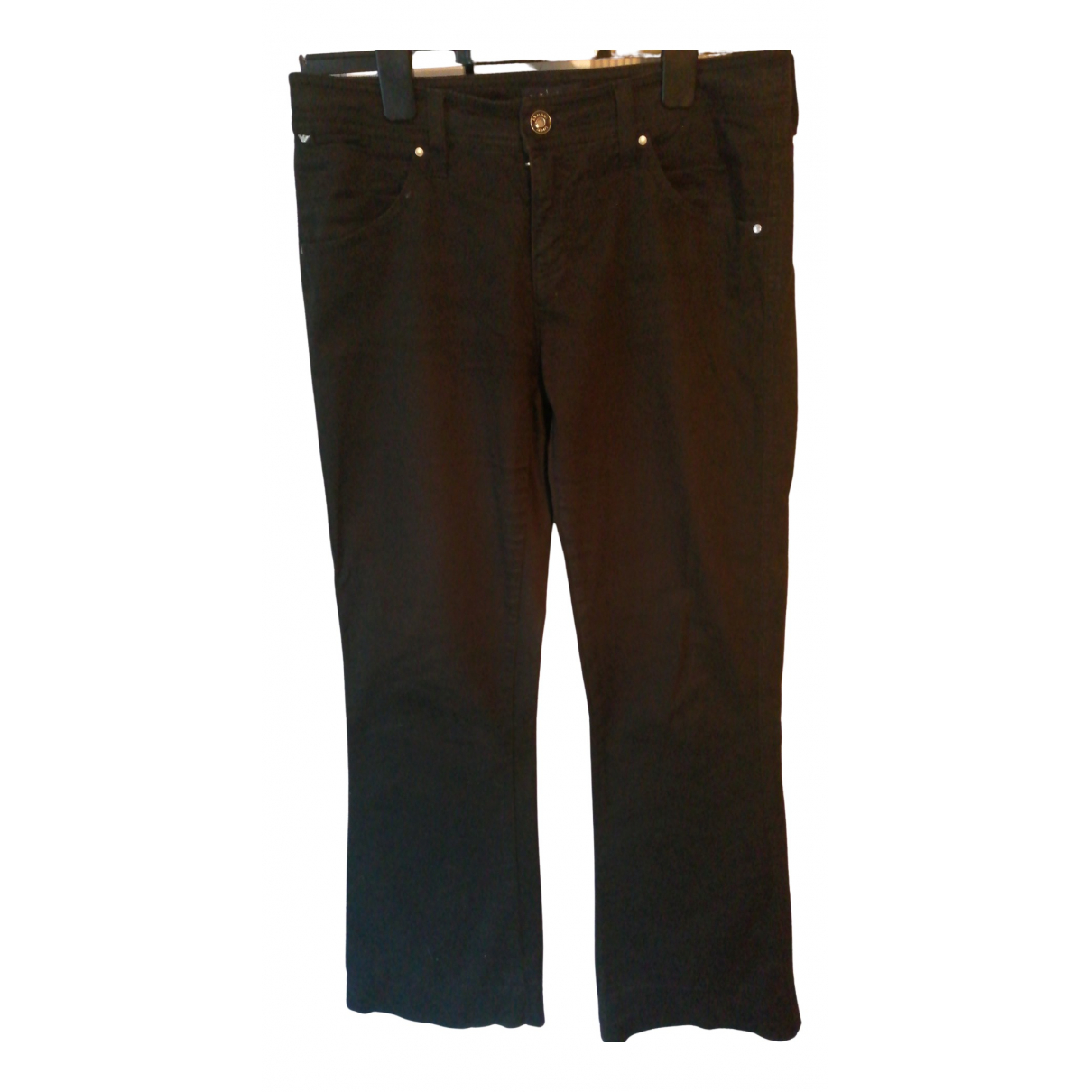 Armani Jeans N Navy Cotton Jeans for Women 28 US