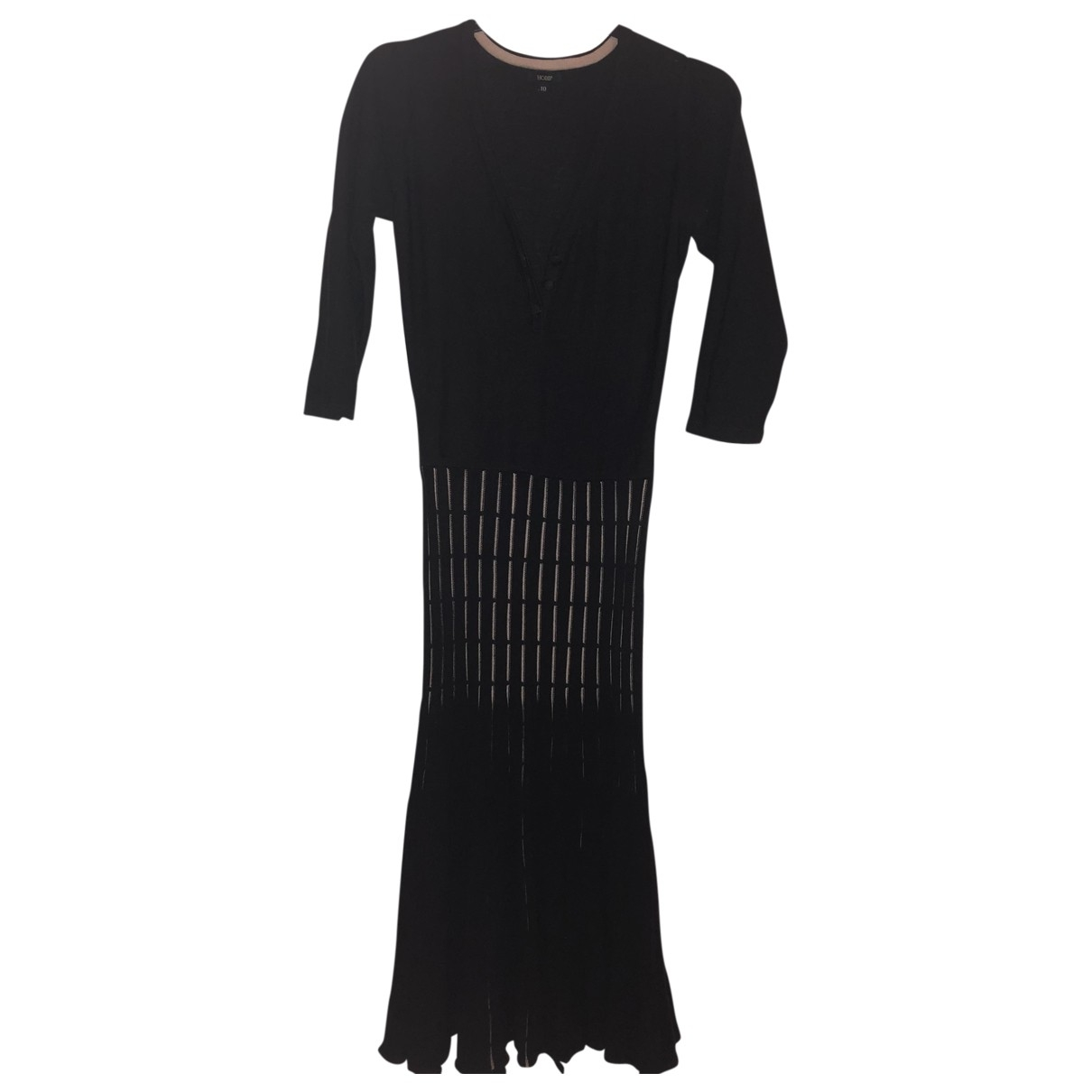 Hobbs \N Brown Wool dress for Women 10 UK