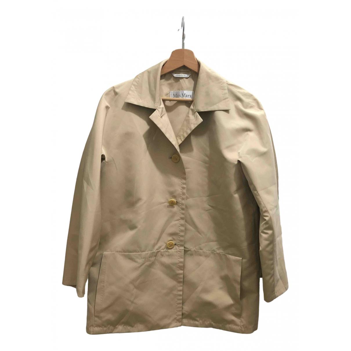 Max Mara N Beige jacket for Women 42 IT
