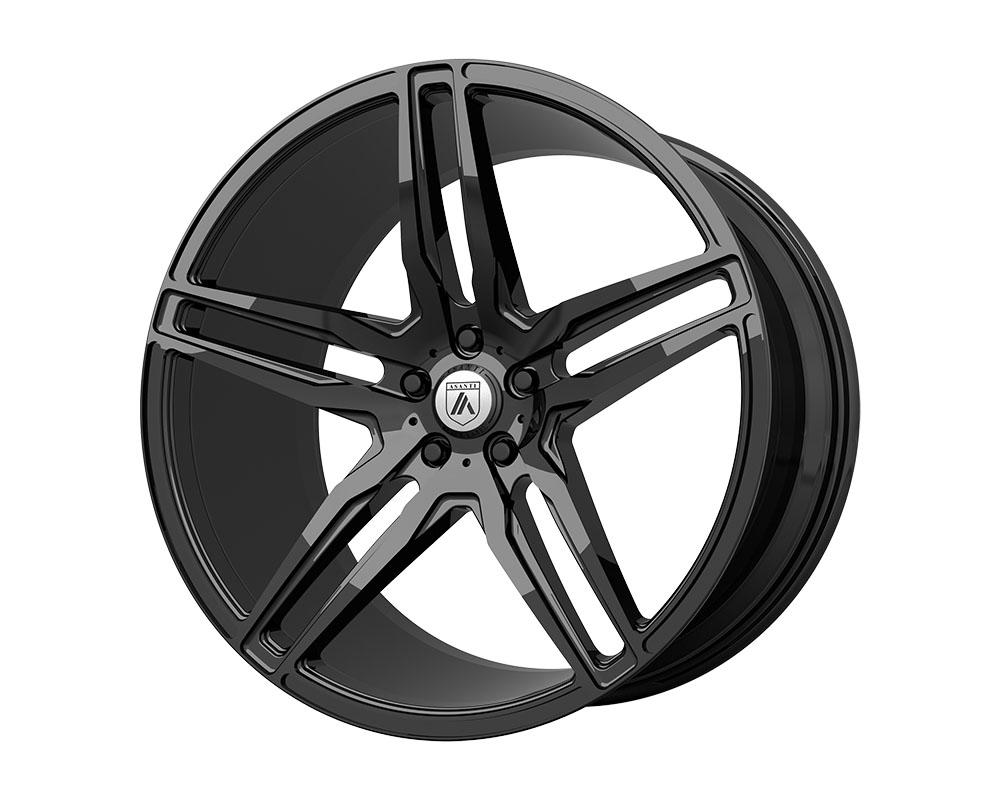 Asanti ABL12-22051235BK Black ABL-12 Orion Wheel 22x10.5 5x5x114.3 +35mm Gloss Black