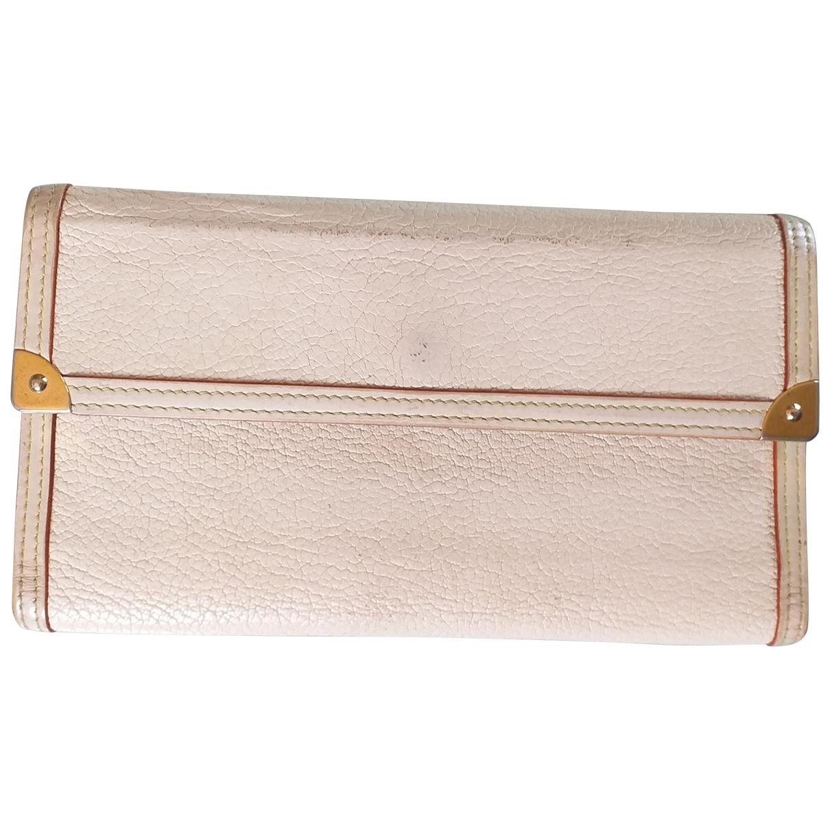 Louis Vuitton \N Portemonnaie in  Bunt Leder