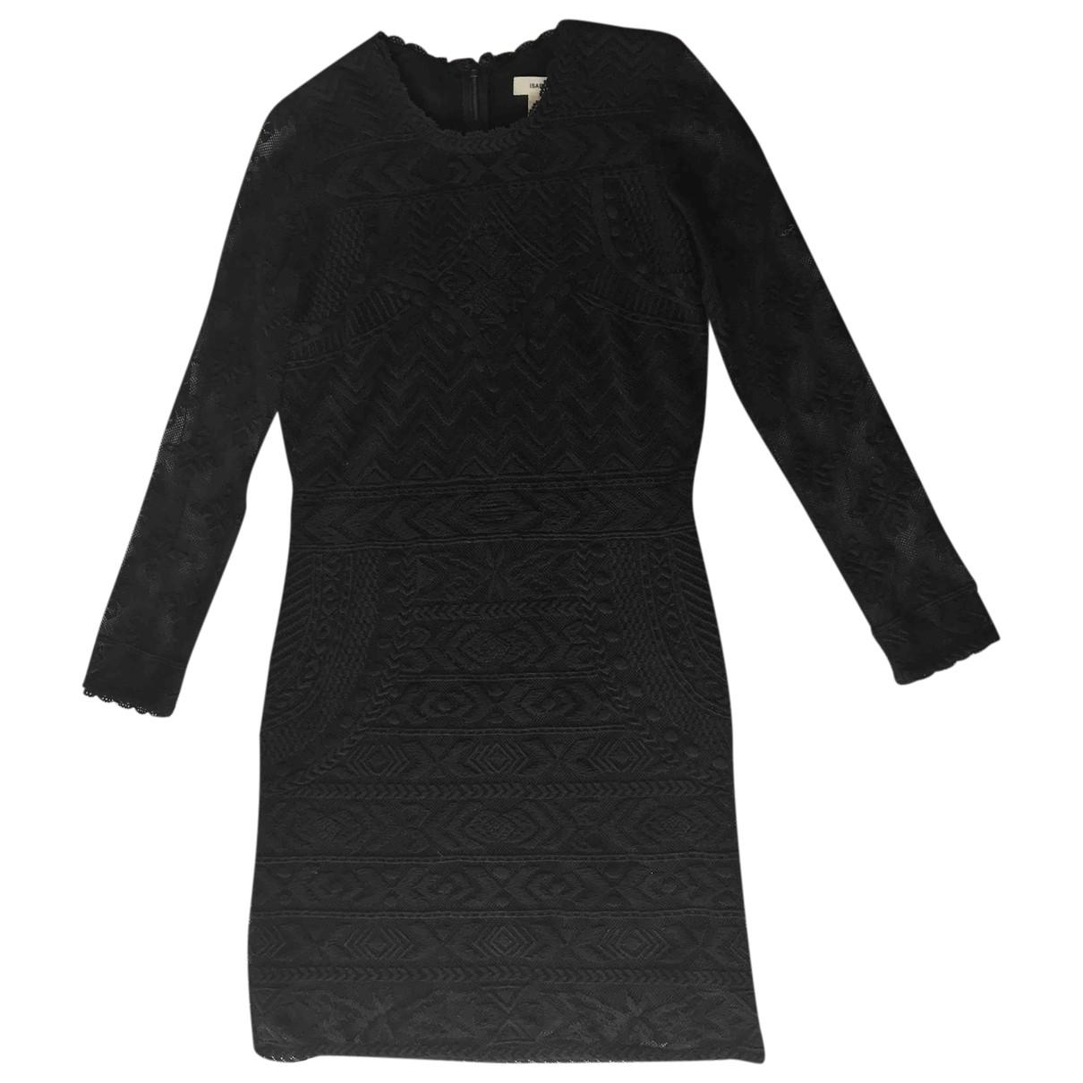 Isabel Marant Pour H&m \N Kleid in  Schwarz Spitze