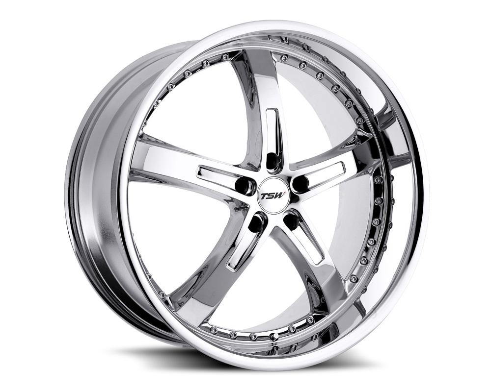 TSW Jarama Wheel 18x9.5 5x120 45mm Chrome