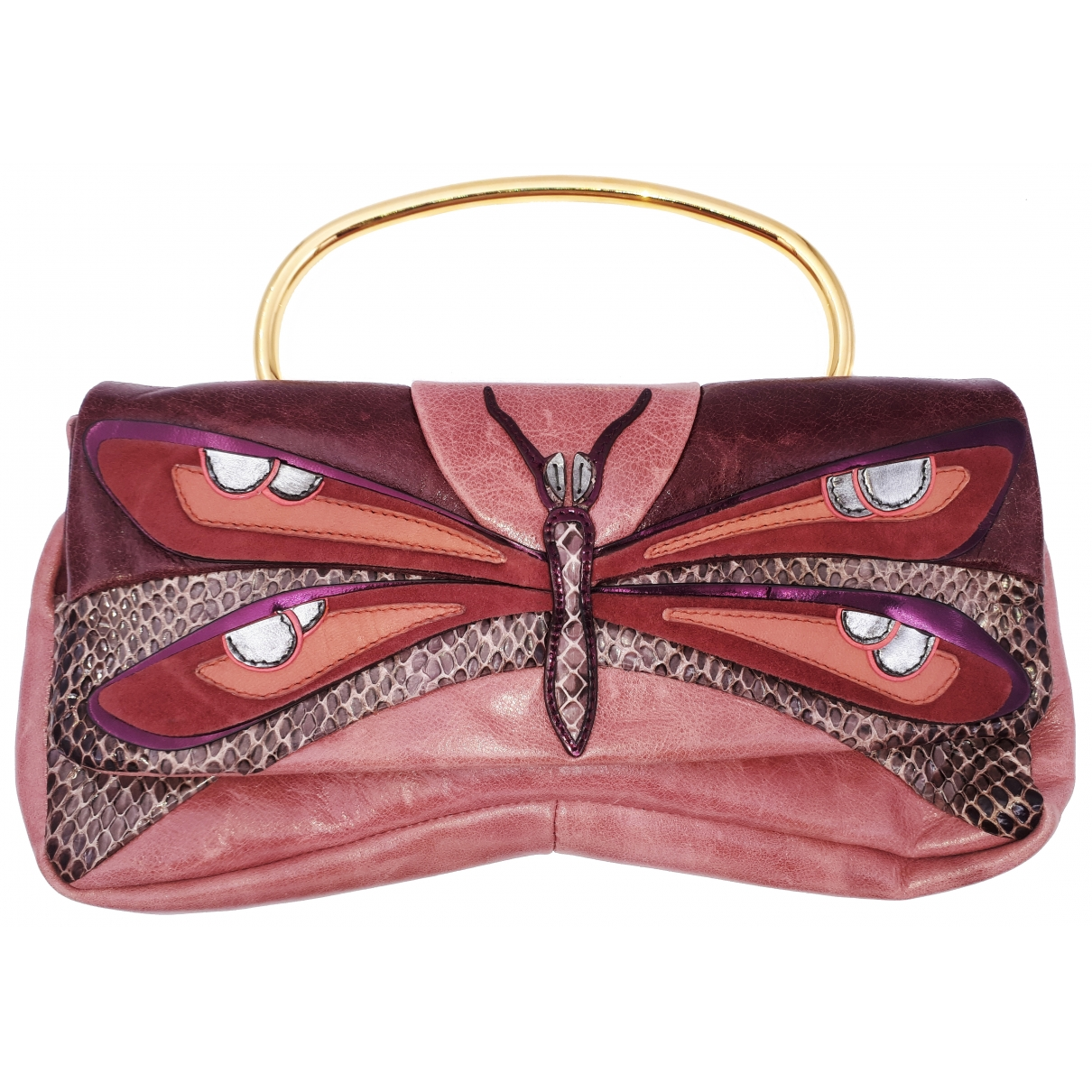 Miu Miu \N Handtasche in  Rosa Leder