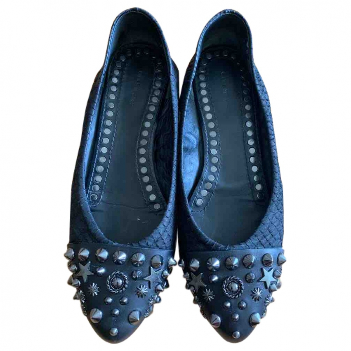 Givenchy \N Black Leather Ballet flats for Women 36 EU
