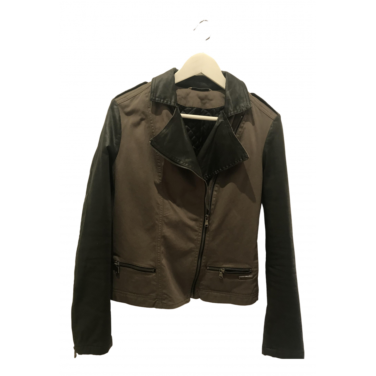 Liu.jo \N Khaki Cotton jacket for Women 36 FR