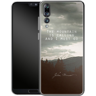 Huawei P20 Pro Silikon Handyhuelle - The Mountain Is Calling von Leah Flores