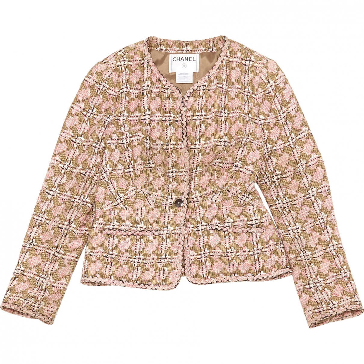 Chanel \N Pink Cotton jacket for Women 44 FR