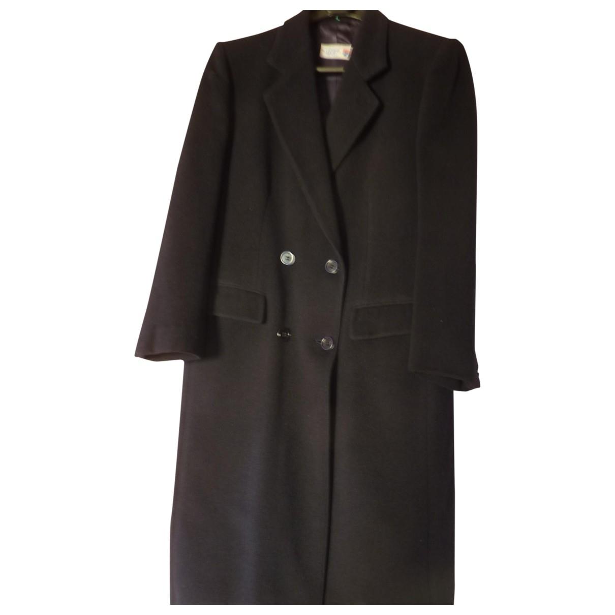 - Manteau   pour homme en laine - marine