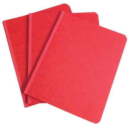 GBC@ Pressboard Report Cover, Side Binding - Red 300640
