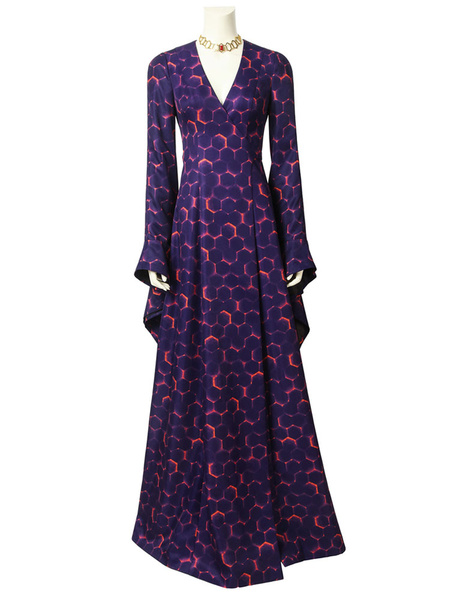 Milanoo TV Drama Game Of Thrones Season 8 Cosplay Costume GOT Melisandre The Red Women 3 Pieces Cosplay Dress Halloween