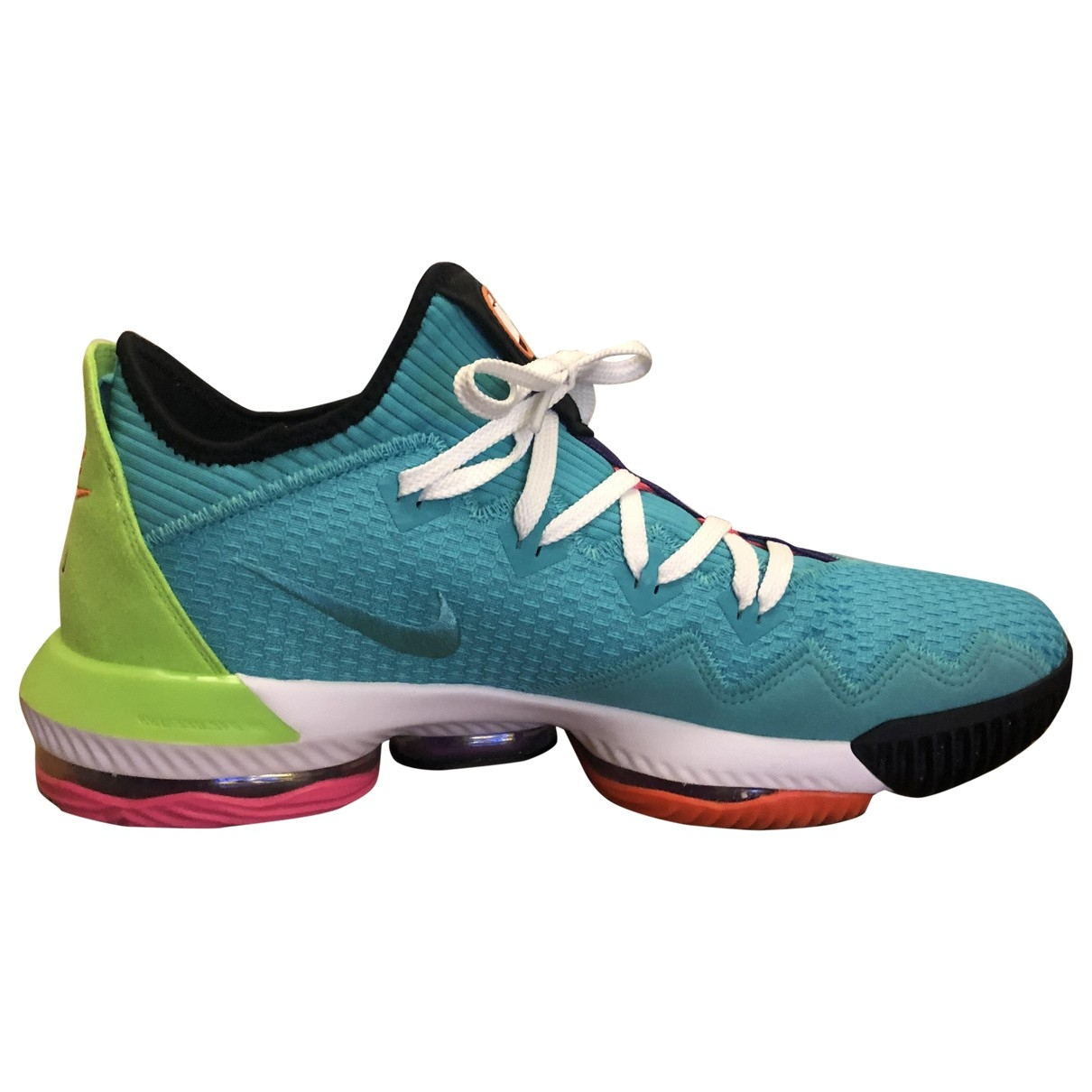 Nike \N Green Cloth Trainers for Men 14 US