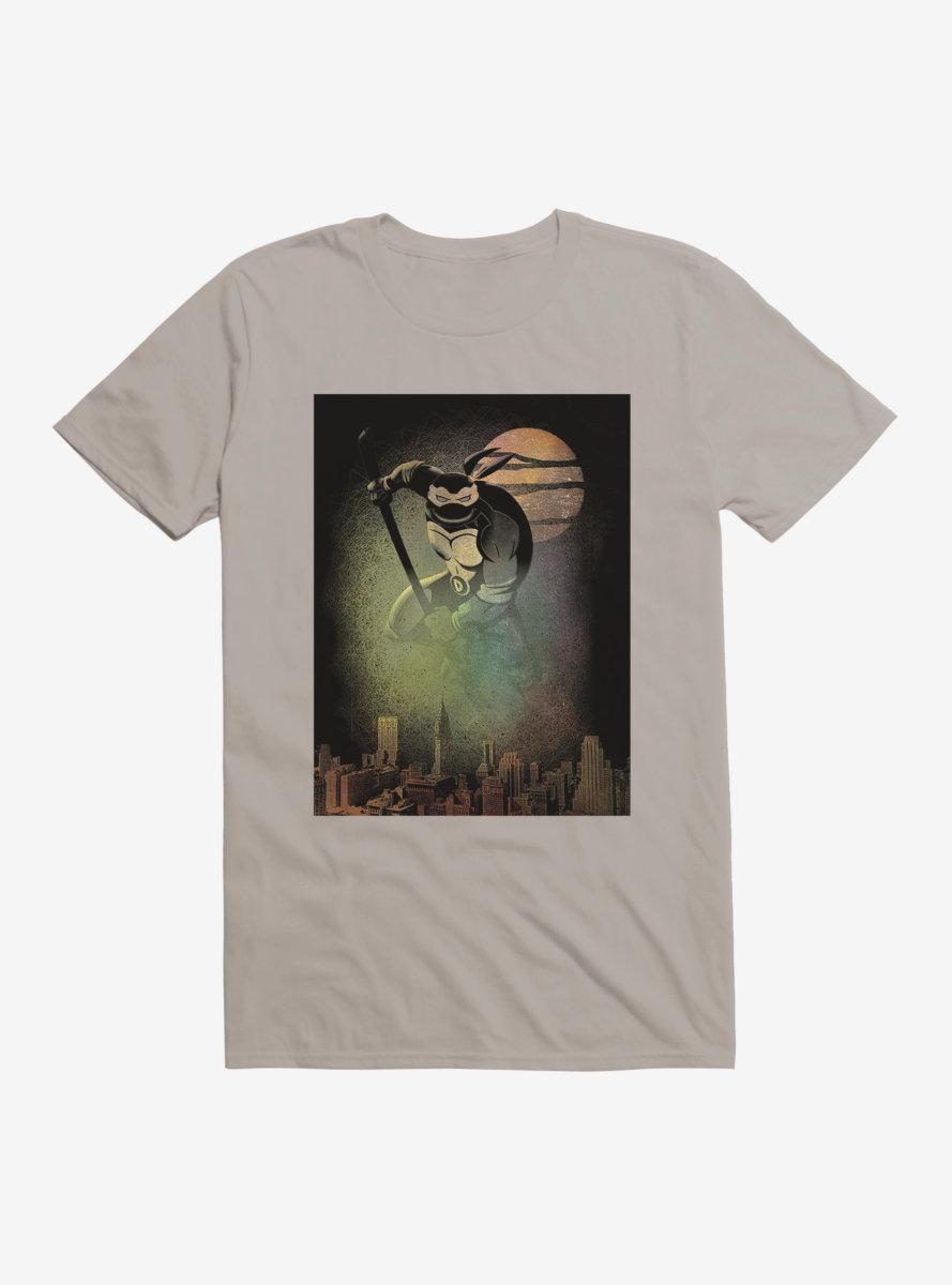 Teenage Mutant Ninja Turtles Donatello Protects The City Spray Paint T-Shirt