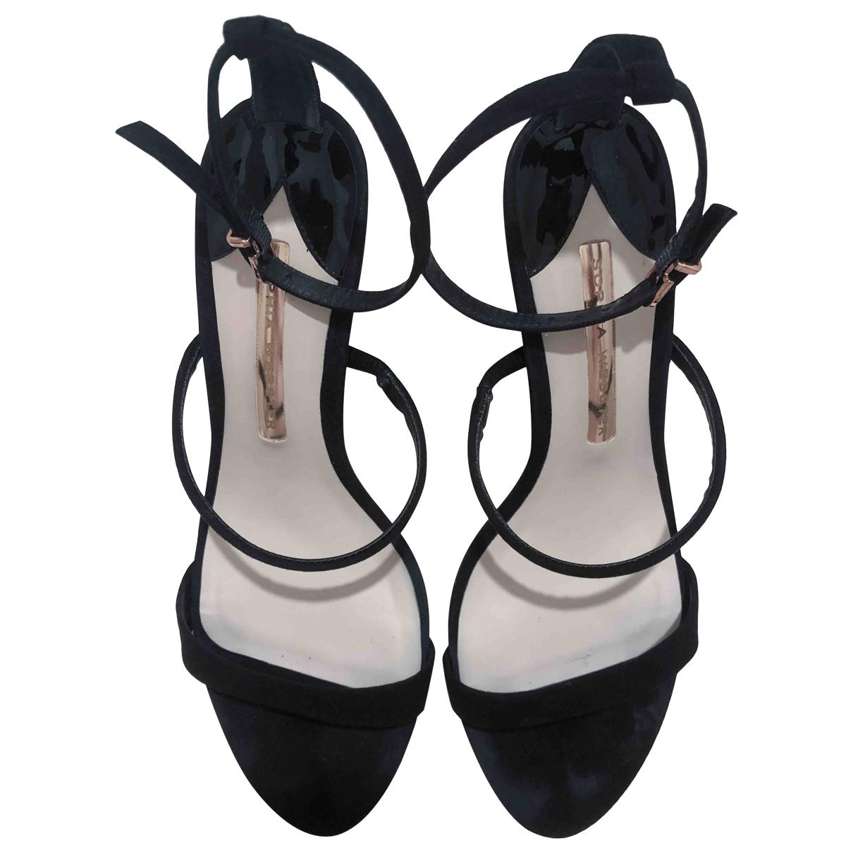 Sophia Webster \N Black Suede Sandals for Women 38.5 EU