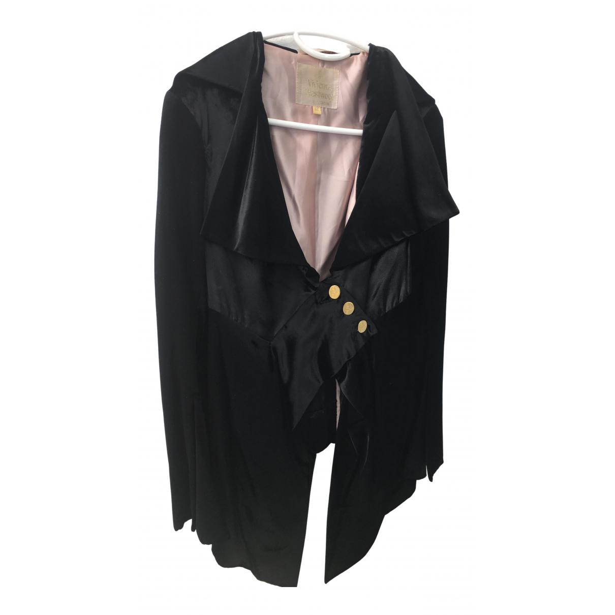 Vivienne Westwood - Veste   pour femme en velours - noir