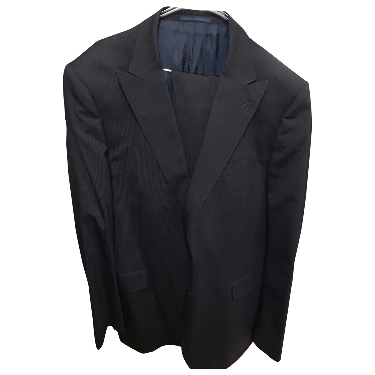 Gucci \N Navy Wool Suits for Men XL International