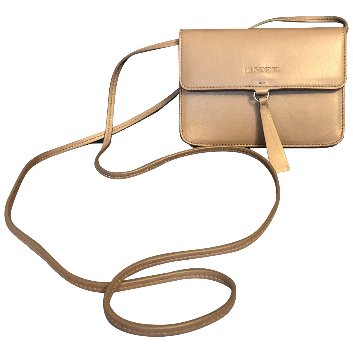 Jil Sander \N Leather Clutch bag for Women \N