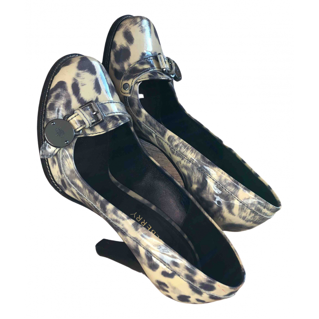 Mulberry N Multicolour Leather Heels for Women 38.5 EU