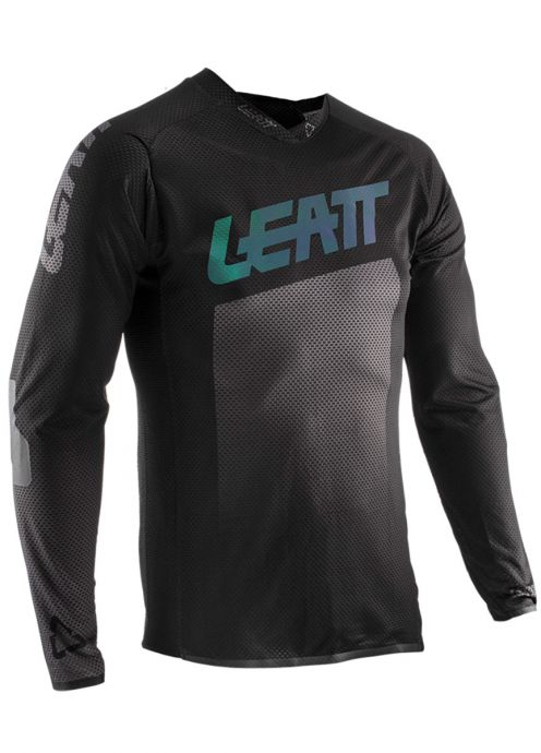 Leatt 5020002682 Black DBX 4.0 Ultraweld Jersey Medium