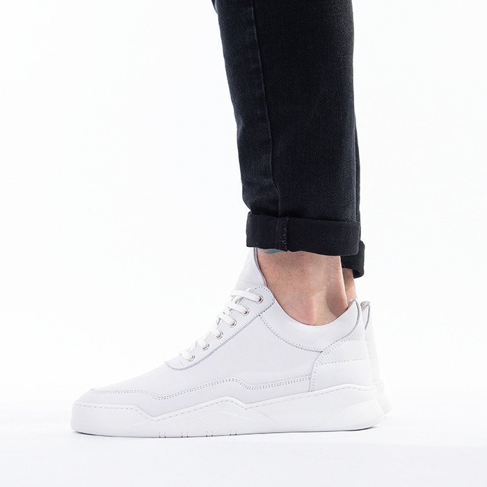 Filling Pieces Low Top Ghost Matt Nubuck 10121611812