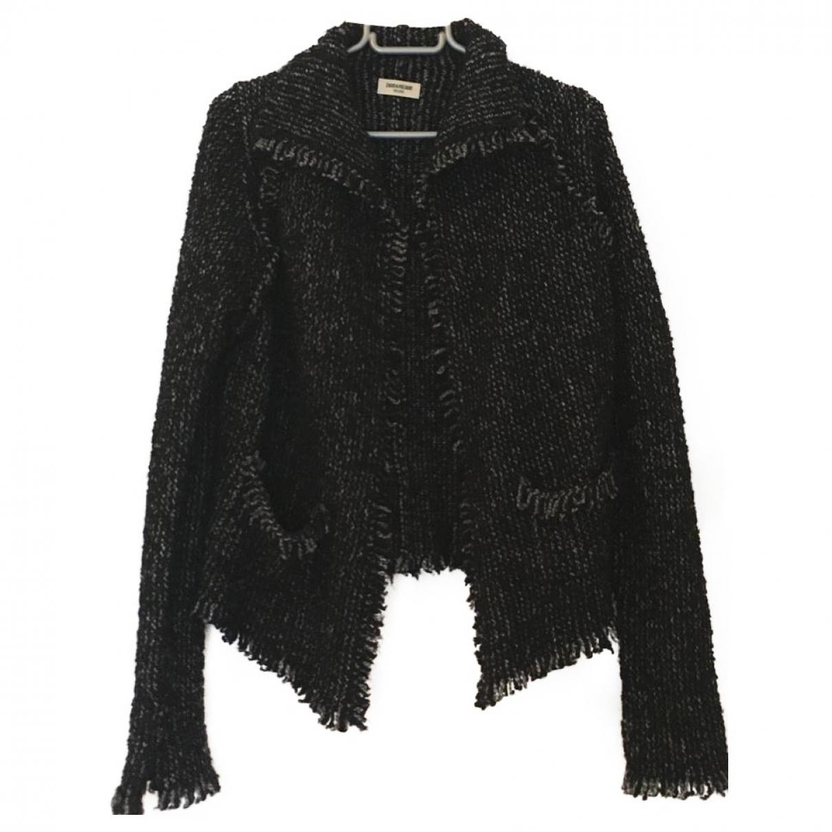 Zadig & Voltaire - Veste   pour femme en laine - gris