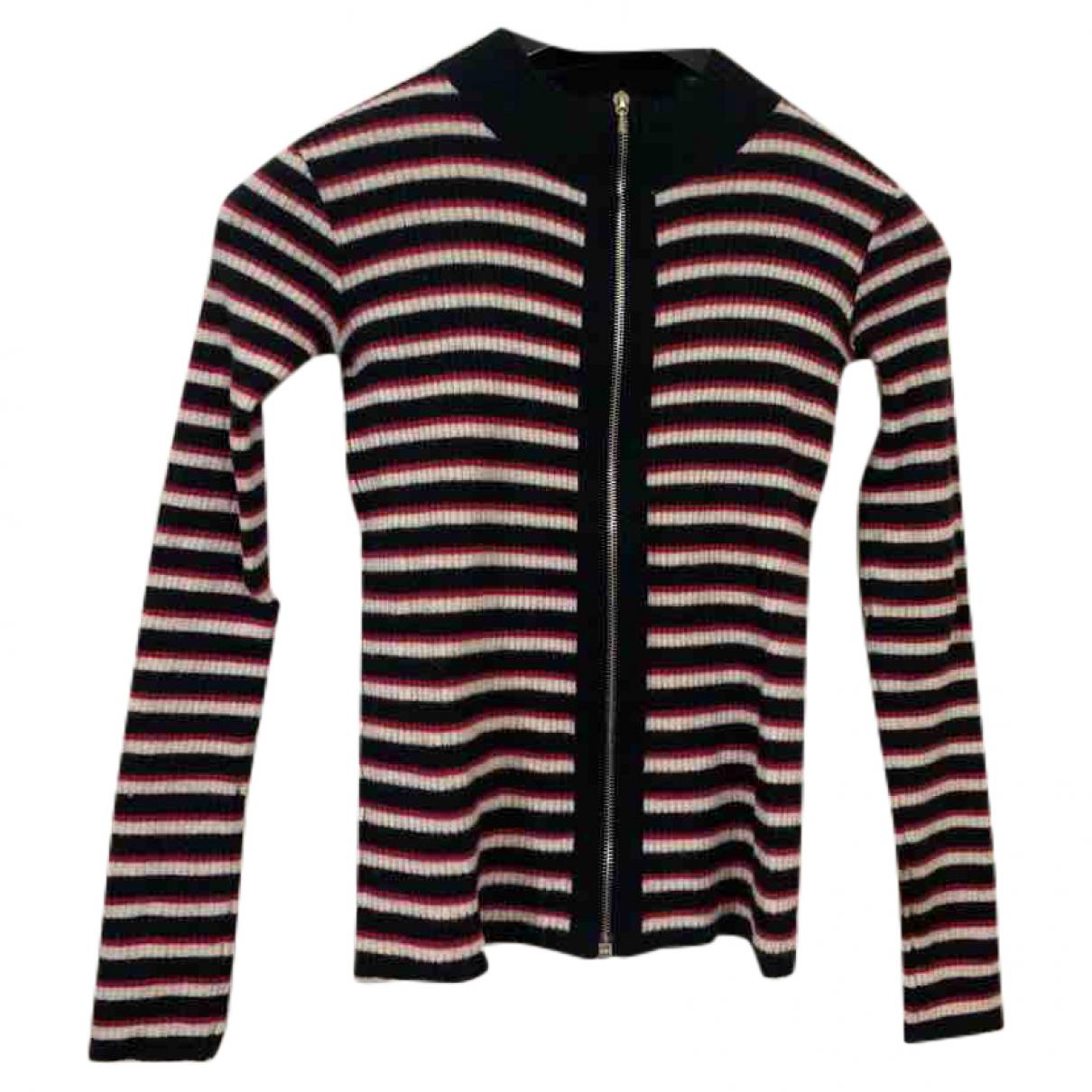 Agnes B. - Pull   pour femme en laine - noir