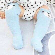 Baby Cartoon Graphic Crew Socks