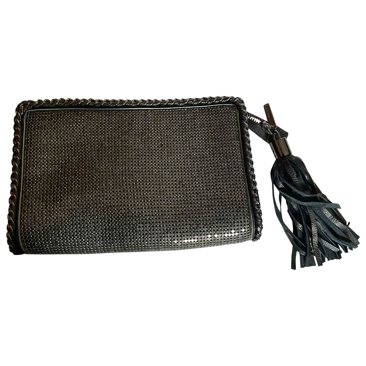 Bcbg Max Azria \N Clutch in  Metallic Synthetik