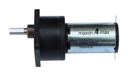 Maxon , 12 V dc, 60 Ncm, Brushed DC Geared Motor, Output Speed 230 rpm