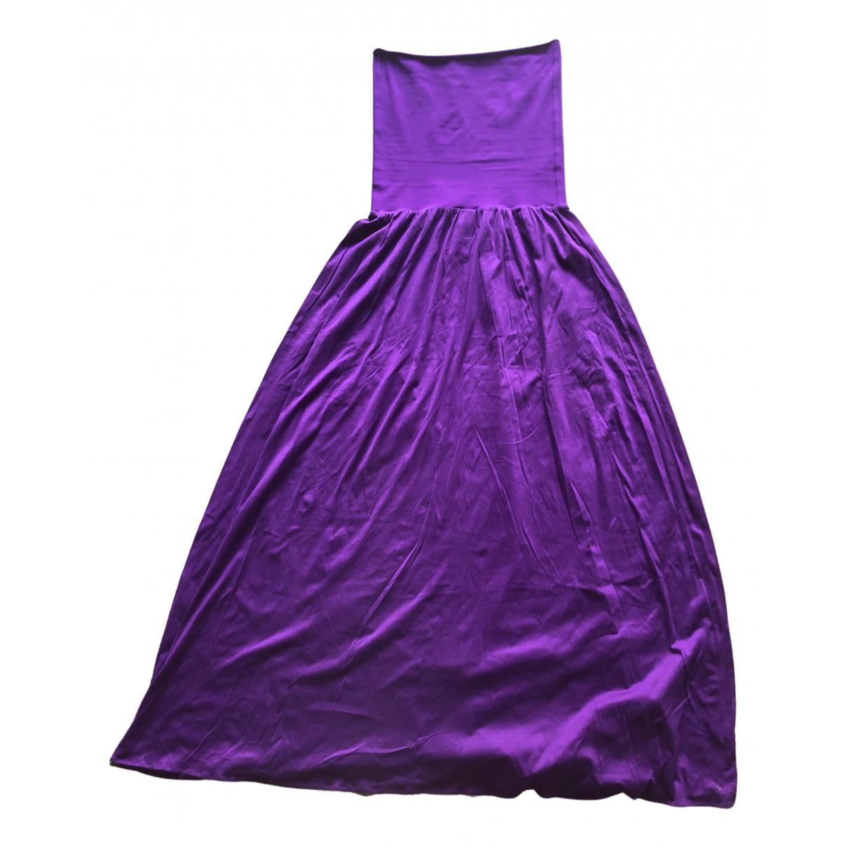 Eres - Robe   pour femme en coton - violet
