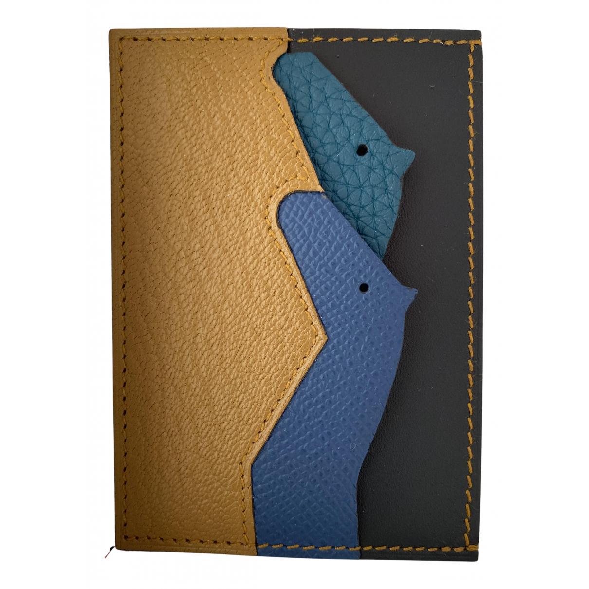 Hermes - Petite maroquinerie   pour homme en cuir - multicolore