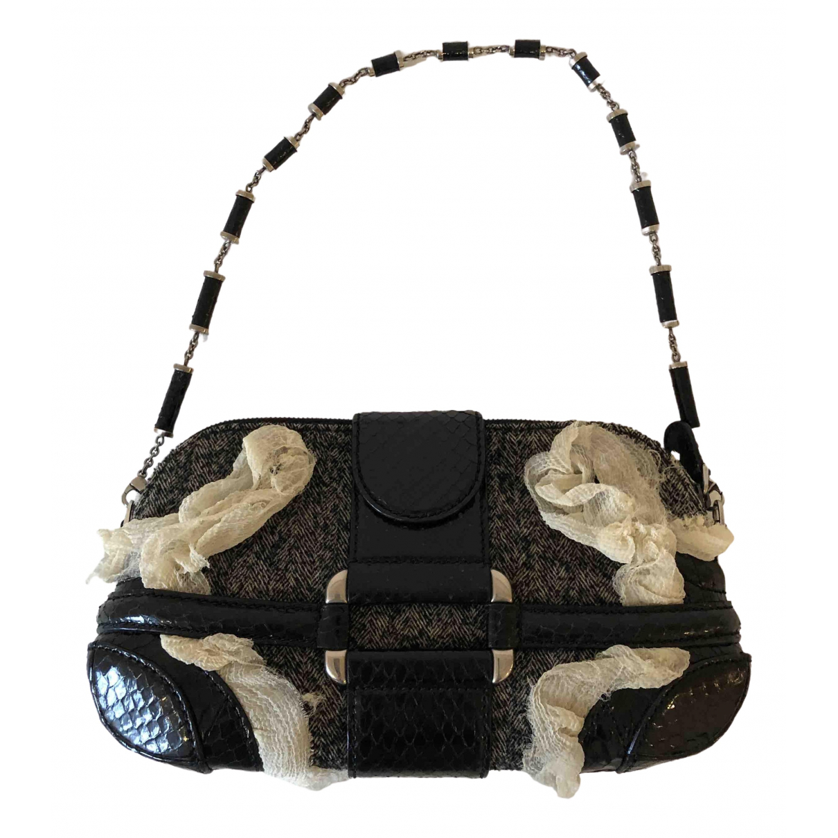 Alexander Mcqueen \N Grey Leather handbag for Women \N