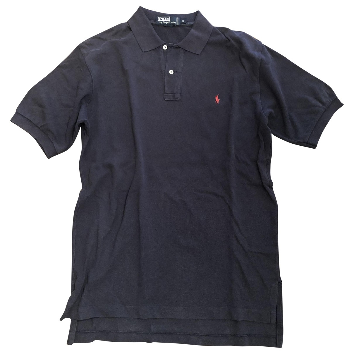 Polo Ralph Lauren \N Blue Cotton Polo shirts for Men M International