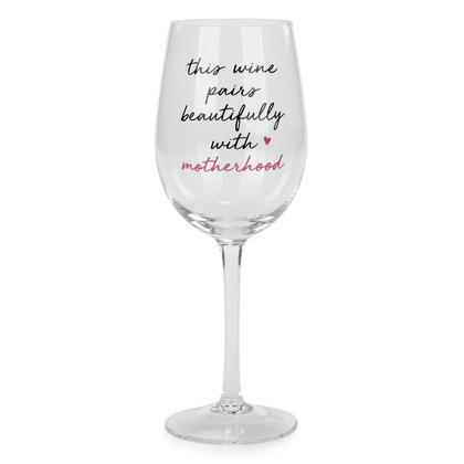 Verre à vin - Drinking Alone 3X9