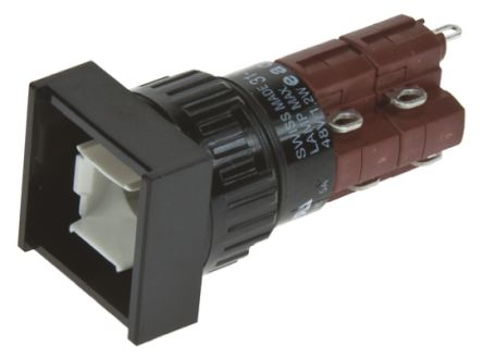 EAO Illuminated Push Button Switch, IP40, Panel Mount, Momentary for use with Series 31 -25°C +55°C