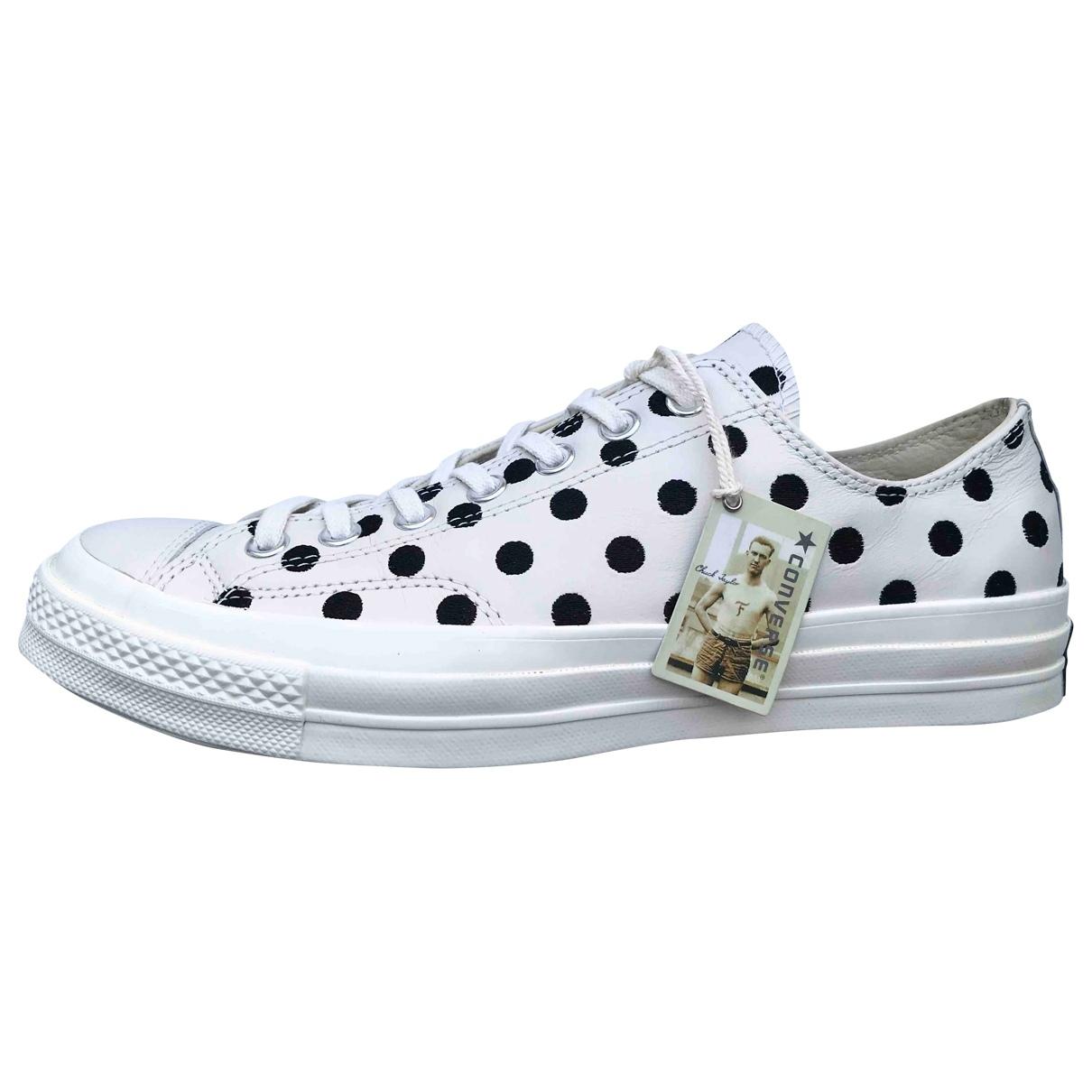 Converse \N Sneakers in  Ecru Leder