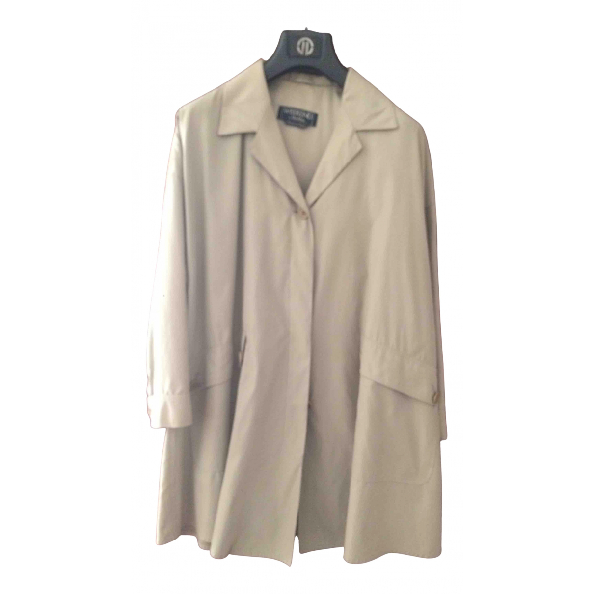 Max Mara Weekend - Trench   pour femme - gris