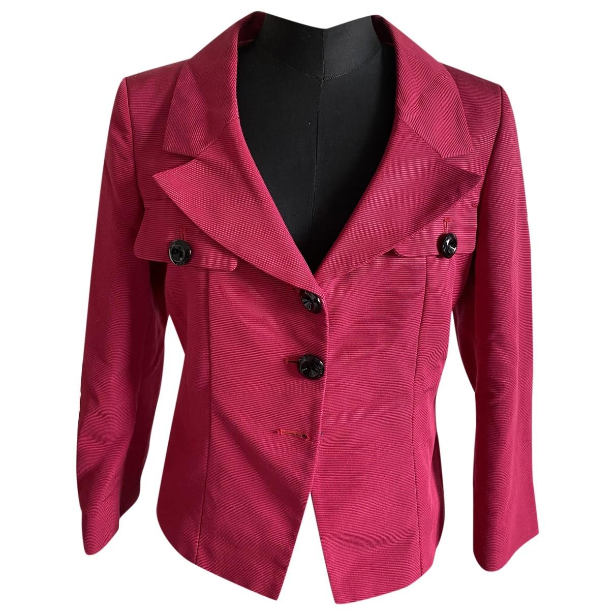 Pinko - Veste   pour femme en coton - rouge