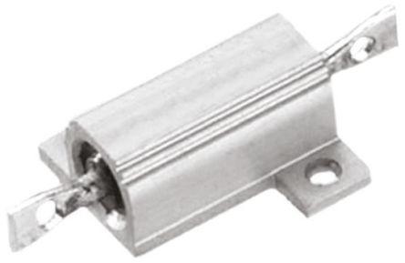 TE Connectivity THS10 Series Aluminium, Aluminium Housed Solder Lug Wire Wound Panel Mount Resistor, 68Ω ±5% 10W